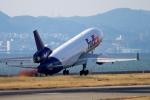 カヤノユウイチさんが、関西国際空港で撮影したフェデックス・エクスプレス MD-11Fの航空フォト(飛行機 写真・画像)