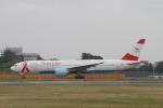 matsuさんが、成田国際空港で撮影したオーストリア航空 777-2Z9/ERの航空フォト(飛行機 写真・画像)