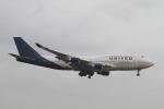 matsuさんが、成田国際空港で撮影したユナイテッド航空 747-422の航空フォト(写真)