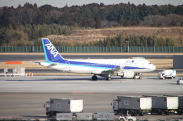 shimayanJPさんが、成田国際空港で撮影した全日空 A320-214の航空フォト(飛行機 写真・画像)