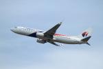 T.Sazenさんが、関西国際空港で撮影したマレーシア航空 737-8H6の航空フォト(飛行機 写真・画像)