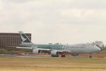 matsuさんが、成田国際空港で撮影したキャセイパシフィック航空 747-867F/SCDの航空フォト(写真)