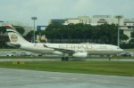 しんさんが、シンガポール・チャンギ国際空港で撮影したエティハド航空 A330-243の航空フォト(写真)