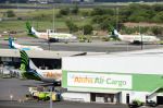 パンダさんが、ダニエル・K・イノウエ国際空港で撮影したアロハ・エア・カーゴ 737-282/Adv(F)の航空フォト(写真)