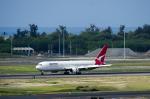パンダさんが、ダニエル・K・イノウエ国際空港で撮影したカンタス航空 767-338/ERの航空フォト(飛行機 写真・画像)