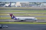 パンダさんが、ダニエル・K・イノウエ国際空港で撮影したハワイアン航空 717-2BLの航空フォト(飛行機 写真・画像)
