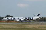matsuさんが、成田国際空港で撮影したフィンエアー A340-313Xの航空フォト(写真)