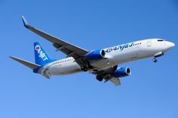 aircanadafunさんが、モントリオール・ピエール・エリオット・トルドー国際空港で撮影したキャンジェット航空 737-8ASの航空フォト(飛行機 写真・画像)