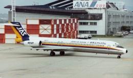 フライヤー320さんが、伊丹空港で撮影した日本エアシステム MD-87 (DC-9-87)の航空フォト(飛行機 写真・画像)