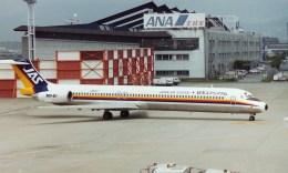 フライヤー320さんが、伊丹空港で撮影した日本エアシステム MD-81 (DC-9-81)の航空フォト(飛行機 写真・画像)