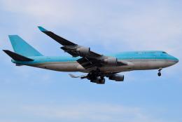 あちゃそぺさんが、オヘア国際空港で撮影したボーイング エアクラフト ホールディング カンパニー 747-4B5(BCF)の航空フォト(飛行機 写真・画像)