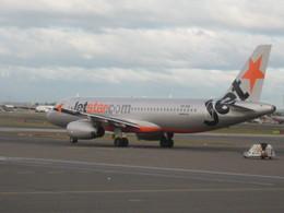 じょーまうすさんが、シドニー国際空港で撮影したジェットスター A320-232の航空フォト(飛行機 写真・画像)