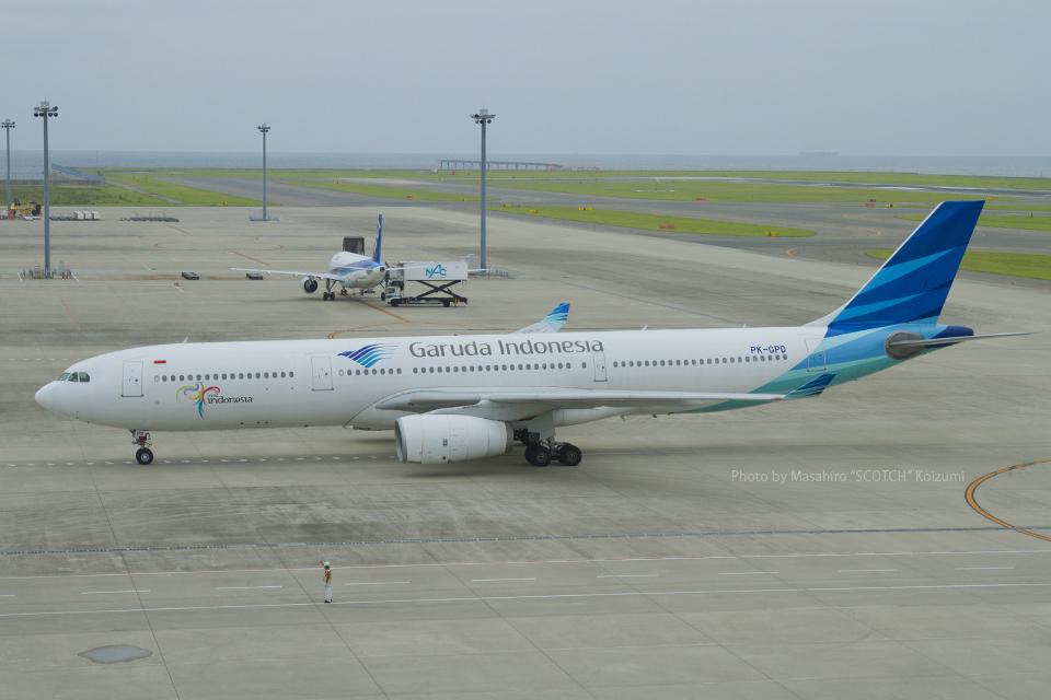 Scotchさんのガルーダ・インドネシア航空 Airbus A330-300 (PK-GPD) 航空フォト