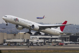 LAX Spotterさんが、ロサンゼルス国際空港で撮影した日本航空 777-346/ERの航空フォト(飛行機 写真・画像)