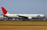 Kuuさんが、鹿児島空港で撮影した日本航空 767-346の航空フォト(飛行機 写真・画像)