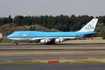 アイスコーヒーさんが、成田国際空港で撮影したKLMオランダ航空 747-406の航空フォト(飛行機 写真・画像)