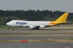 アイスコーヒーさんが、成田国際空港で撮影したポーラーエアカーゴ 747-47UF/SCDの航空フォト(写真)