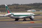 アイスコーヒーさんが、成田国際空港で撮影したアリタリア航空 777-243/ERの航空フォト(飛行機 写真・画像)