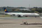 アイスコーヒーさんが、成田国際空港で撮影したルフトハンザドイツ航空 A340-642の航空フォト(写真)