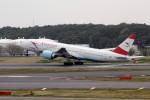 アイスコーヒーさんが、成田国際空港で撮影したオーストリア航空 777-2B8/ERの航空フォト(飛行機 写真・画像)