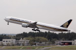 アイスコーヒーさんが、成田国際空港で撮影したシンガポール航空 777-312/ERの航空フォト(飛行機 写真・画像)