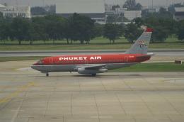 空軍一號さんが、ドンムアン空港で撮影したプーケット航空 737-2B7/Advの航空フォト(飛行機 写真・画像)