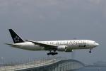 青春の1ページさんが、関西国際空港で撮影した全日空 777-281の航空フォト(写真)