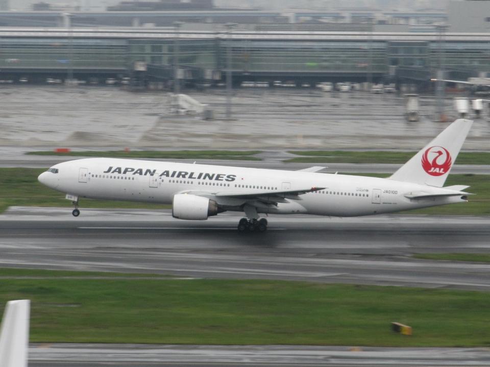 aquaさんの日本航空 Boeing 777-200 (JA010D) 航空フォト
