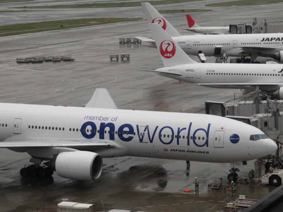 aquaさんの日本航空 Boeing 777-200 (JA771J) 航空フォト