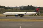 アイスコーヒーさんが、成田国際空港で撮影したデルタ航空 A330-323Xの航空フォト(飛行機 写真・画像)