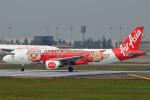 Peter Hoさんが、台湾桃園国際空港で撮影したエアアジア A320-216の航空フォト(写真)