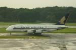 しんさんが、シンガポール・チャンギ国際空港で撮影したシンガポール航空 A380-841の航空フォト(写真)