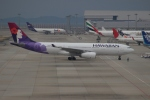 uhfxさんが、関西国際空港で撮影したハワイアン航空 A330-243の航空フォト(飛行機 写真・画像)