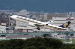 福岡空港 - Fukuoka Airport [FUK/RJFF]で撮影されたシンガポール航空 - Singapore Airlines [SQ/SIA]の航空機写真