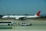 SHOさんが、ロサンゼルス国際空港で撮影した日本航空 777-346/ERの航空フォト(写真)