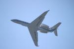 uhfxさんが、関西国際空港で撮影した海上保安庁 G-V Gulfstream Vの航空フォト(飛行機 写真・画像)