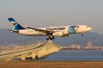 takepapaさんが、関西国際空港で撮影したエジプト航空 A330-243の航空フォト(写真)