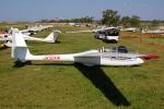 Chofu Spotter Ariaさんが、大利根飛行場で撮影した日本個人所有 SZD-50-3 Puchaczの航空フォト(飛行機 写真・画像)