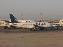 maixxさんが、ヌール・カーン空軍基地で撮影したエア・ブルー A319-111の航空フォト(飛行機 写真・画像)