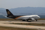 T.Sazenさんが、関西国際空港で撮影したUPS航空 747-44AF/SCDの航空フォト(写真)