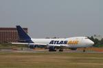matsuさんが、成田国際空港で撮影したアトラス航空 747-47UF/SCDの航空フォト(写真)