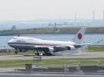 aquaさんが、羽田空港で撮影した航空自衛隊 747-47Cの航空フォト(写真)