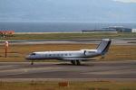 T.Sazenさんが、関西国際空港で撮影したウェルズ・ファーゴ・バンク・ノースウェスト G500/G550 (G-V)の航空フォト(写真)