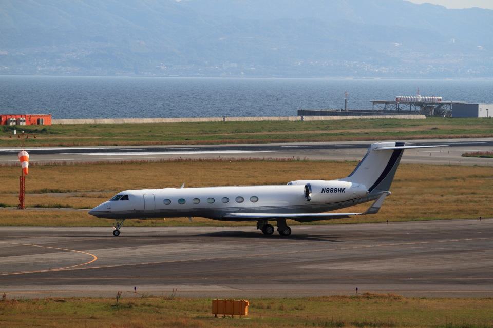 T.Sazenさんのウェルズ・ファーゴ・バンク・ノースウェスト Gulfstream Aerospace G500/G550 (N888HK) 航空フォト