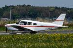 パンダさんが、龍ケ崎飛行場で撮影した日本個人所有 PA-28-161 Warrior IIの航空フォト(飛行機 写真・画像)