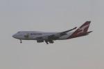 さんみさんが、ロサンゼルス国際空港で撮影したカンタス航空 747-438の航空フォト(写真)