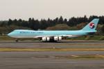 アイスコーヒーさんが、成田国際空港で撮影した大韓航空 747-8HTFの航空フォト(写真)