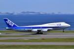 O-TOTOさんが、羽田空港で撮影した全日空 747-481(D)の航空フォト(写真)