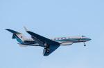 パンダさんが、羽田空港で撮影した海上保安庁 G-V Gulfstream Vの航空フォト(写真)