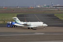 たまさんが、羽田空港で撮影したスカイリンク・アラビア CL-600-2B16 Challenger 604の航空フォト(飛行機 写真・画像)